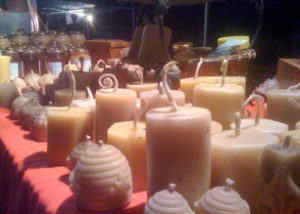 bees wax candles2